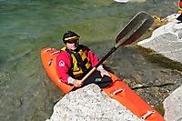 Vorderrhein Wildwasser paddeln